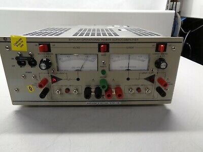 Kepco Bop20-5m Bipolar Dc Power Supply Dc To -20vdc 0 To -5a