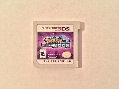 Pokemon Ultra Moon (Nintendo 3DS, 2017 Game) - Cartridge Only