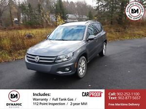 2015 Volkswagen Tiguan Comfortline AWD LEATHER ROOF OWN FOR $...