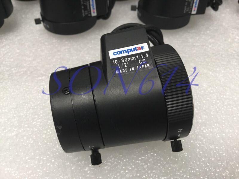 """1x COMPUTAR CCTV Varifocal Lens 10-30mm Auto Iris, 1/2"""" CS 1:1.4 Security Camera"""