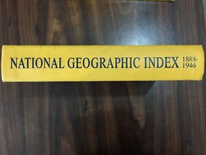 National Geographic Index 1888-1946