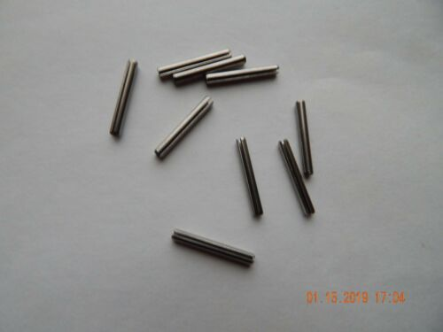 """6 PCS STAINLESS STEEL ROLL PINS  5//16 x 1 1//4/""""  18-8 NEW"""