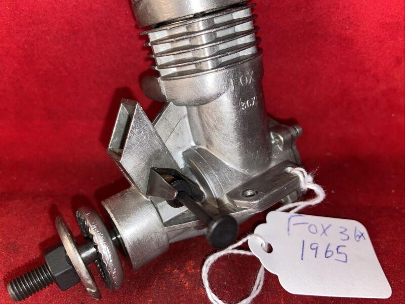 FOX 36X C/L ENGINE EXCELLENT 1965?