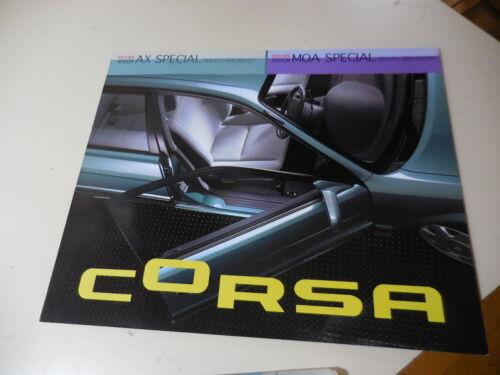 TOYOTA Corsa Special Japanese Brochure 1995/08 EL55 EL51 5E-FE 4E-FE