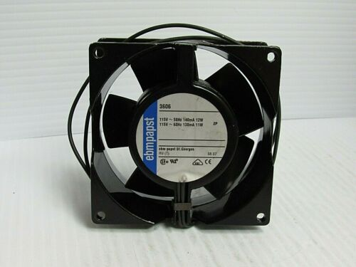 EBMPAPST AXIAL COOLING FAN 3606 115V - USED