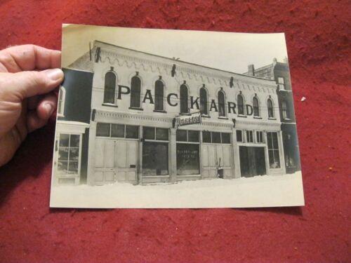 "ca.1920 Packard-Buick Dealership ORIGINAL 8X10 Photo ""Cloverland (?) Auto Co"""