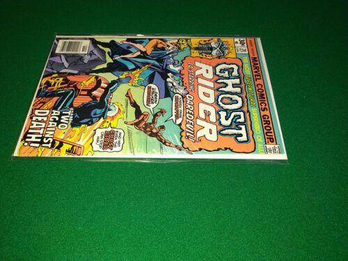 Ghost Rider 20 Oct 1976, Marvel -Daredevil Crossover Death Of Smasher - $50.00