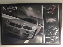 Nissan GT-R R34 framed poster 95cm x 65cm Birkdale Redland Area Preview