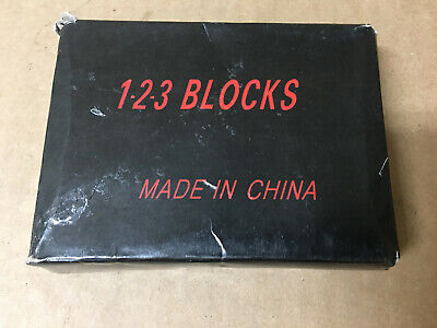 Pair Of 1 X 2 X 3 Blocks Without Holes Bl-123nh