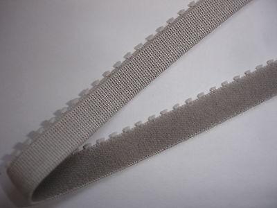 10m Gummiband 0,26€/m hellgrau 10mm breit ED7