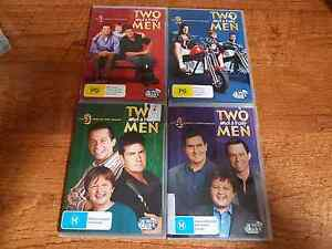 Two and  a half men TV series dvds Forest Lake Brisbane South West Preview