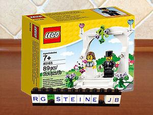 Lego® 40165 Figuren Hochzeit Set Braut Deko Kuchen Torte MISB NRFB seasonal NEU