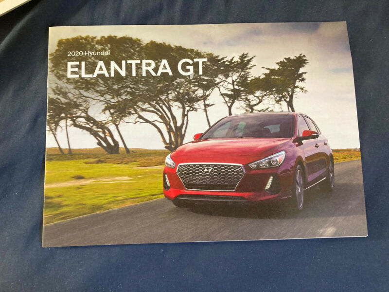2020 Hyundai Elantra Color Brochure Catalog Prospekt