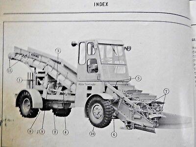 1950s J D Adams No 30 Traveloader Road Grader Tractor Maintenance Parts Manuals