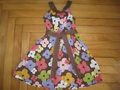 Gymboree Glamour Safari Dress 6