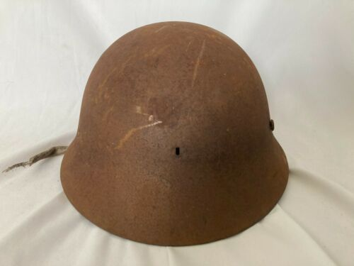 Japanese antique Original WW2 Imperial Japanese Army iron Helmet SS