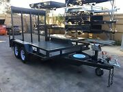 10x6 heavy duty tandem trailer with 6ft drop down ramp, swan hill Swan Hill Swan Hill Area Preview