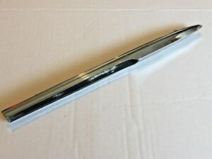 1964 MERCURY MONTCLAIR MONTEREY CHROME FRONT FENDER MOLDING FACTORY ORIGINAL