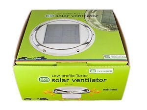 Solar-POWERED-Attic-Fan-intake-Exhaust-Fan-Vent-Boat-Caravan-EG-SVT002T-TURBO
