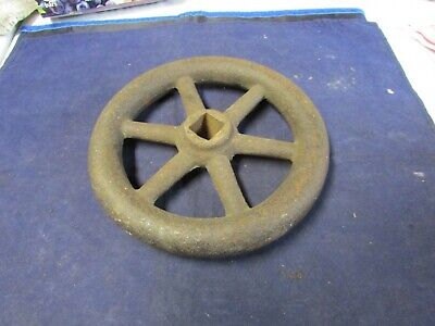 Vintage Cast Iron Industrial Valve Handle Hand Wheel 6 12 Inches