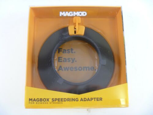 MagMod MagBox Speedring Adapter for Bowens Strobes - NEW in Box!