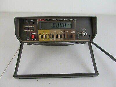 C169936 Keithley 485 Digitla Autoranging Picoammeter As Is For Parts Repair