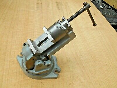 Victor Mfg. Usa 2-18 Heavy Duty 3 Axis Vise Milling Grinding