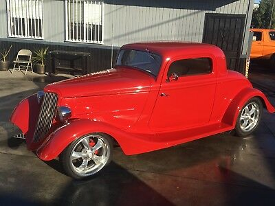 1934 Ford 3 window coupe  1934 Ford 3 window coupe