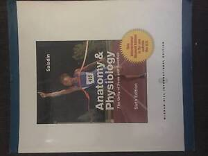 Anatomy and Physiology 6e Como South Perth Area Preview