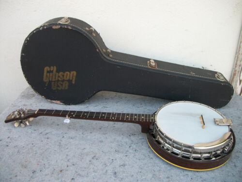 Vintage Gibson RB-100 Banjo 1957 Sunburst 5 String