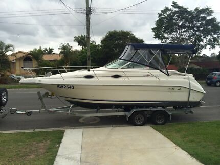 Sea ray 25 sundancer /swap or part trade