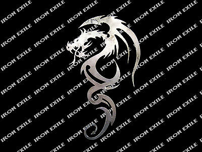 Metal Dragon Silhouette #10 Plasma Cut Wall Art Decor