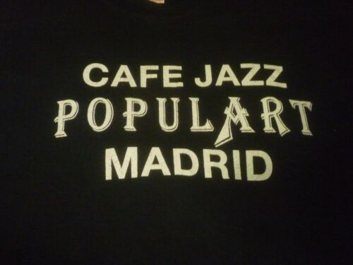 Cafe Jazz Populart Madrid Vintage Shirt ( Used Size XL ) Very Good Condition!!!