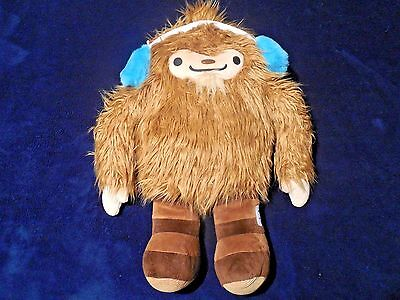 Used, Quatchi Sasquatch Bigfoot Vancouver 2010 Olympic Official Plush Stuffed Animal L for sale  Brownsville