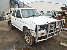 Wrecking 99 Mitsubishi Triton MK Dual Cab MT 4WD, Parts from $10 Port Adelaide Port Adelaide Area Preview