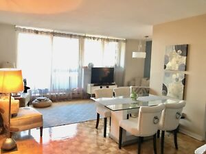 Beautiful 4 1/2 apartment with 2 bathrooms for sublet