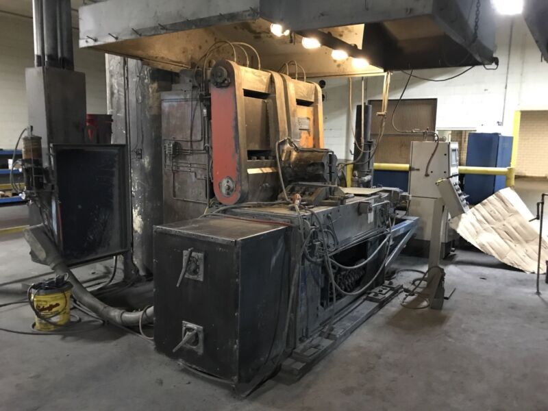 Automation International Federal F7 900 kVa Flash Butt Welder