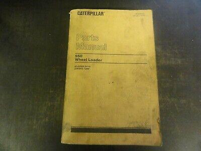 Caterpillar Cat 950 Wheel Loader Parts Manual  Ueg0877s