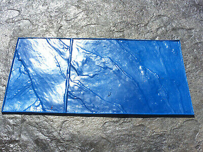 Walkway Slate Tile Floppy Decorative Concrete Cement Imprint Stamp Mat New 18x36