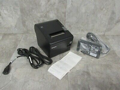 Epson Tm-t88vi 061 Thermal Pos Receipt Printer Ethernet Usb W Power Supply