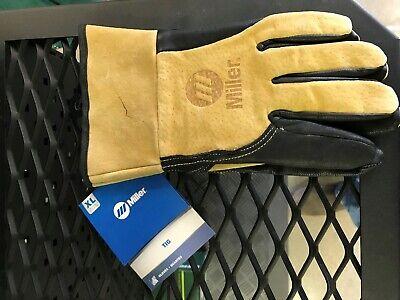 Miller Leather Tig Welding Gloves L 249182 Large