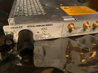 Tektronix 80c02-cr2 Optical Sampling Module Tested With Warranty