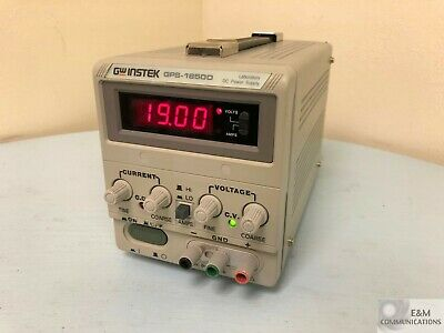 Gps-1850d Gw Instek Single Channel Linear Laboratory Dc Power Supply 18v 5a 90w