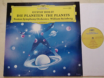HOLST Die Planeten BOSTON SYMPHONY / WILLIAM STEINBERG *GERMAN DGG*
