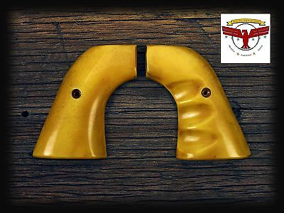 RUGER BLACKHAWK OLD VAQUERO SINGLE SIX GRIPS ~ John Wayne MAGNA-TUSK™ AGED IVORY