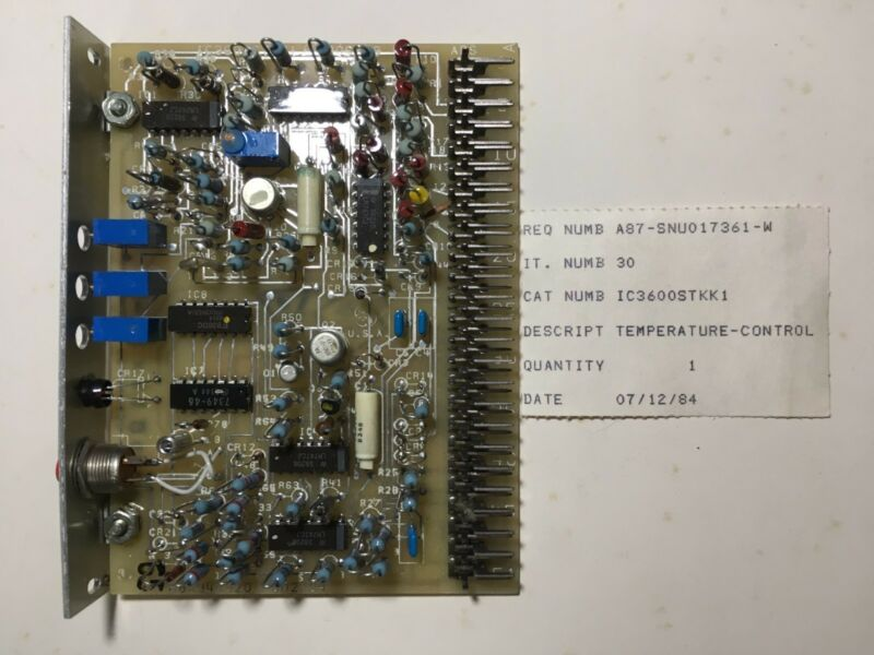 General Electric/Fanuc IC3600STKK1 J Temperature Control NOS