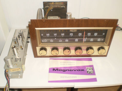 Magnificent Magnavox Stereo AM-FM Tube Tuner w/ FM Multiplex Unit