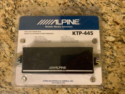 Alpine KTP-445 4-channel 4 x 45 Watt Head Unit Power Pack Ca