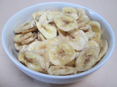 (Dried Organic Banana Chips, 14 lbs / case)
