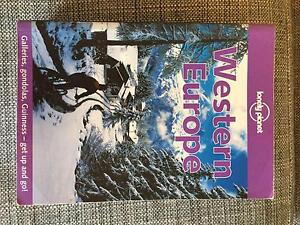Lonely Planet Book - Western Europe Carina Brisbane South East Preview